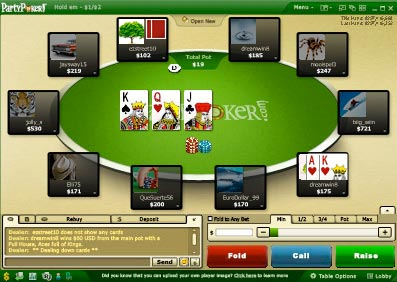 online poker ring game